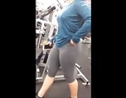 Spanish College Girl With Great Ass At the Gym.